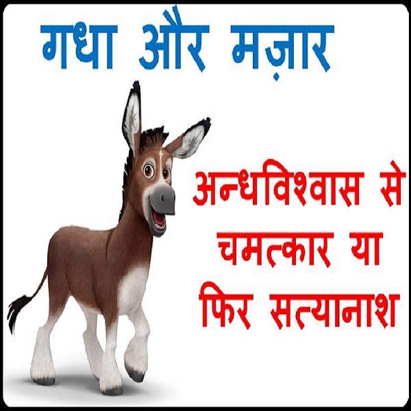 Hindi Story gadha aur mazar