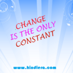 change is only constant