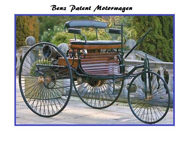 Benz-Patent-Motorwagen